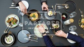 Repas entreprise dans un cadre historique restaurant groupe Nantes 44