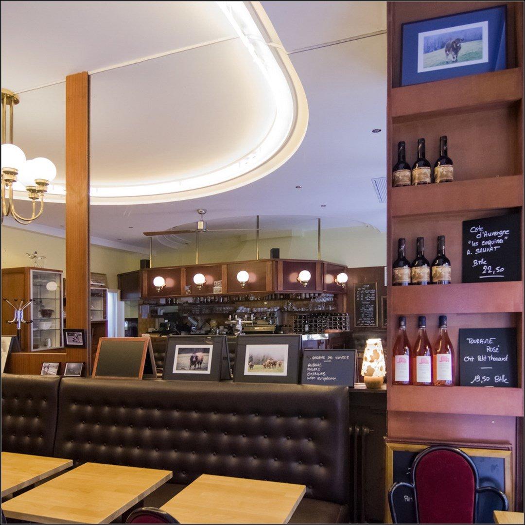 Repas entreprise dans un restaurant convivial restaurant groupe Paris 8