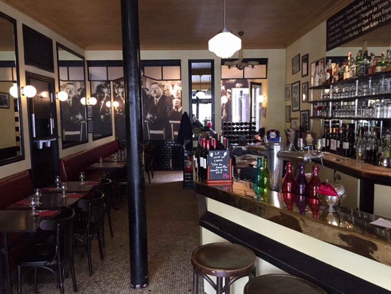 Repas entreprise dans un bistrot typique restaurant groupe Paris 13