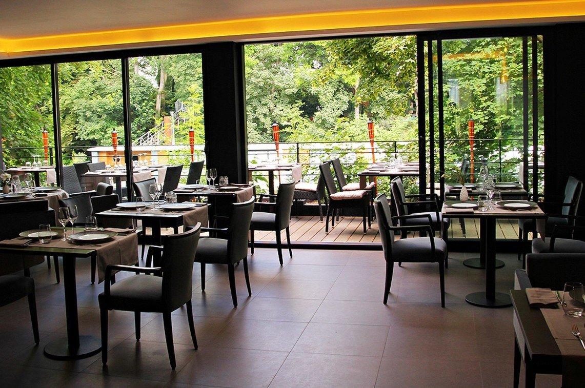 Repas entreprise dans un restaurant gastronomique restaurant groupe ISSY LES MOULINEAUX 92