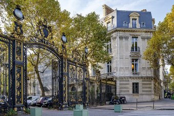 Dîner dans un hôtel particulier Paris 8 restaurant groupe Paris 8