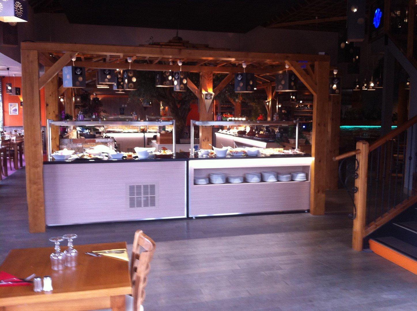 Repas entreprise buffet à volonté restaurant groupe Mauguio 34