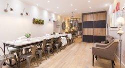 Repas entreprise dans un loft Parisien restaurant groupe PARIS 2 75