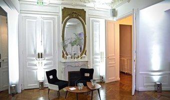 Journée étude dans un Appartement Haussmanien restaurant groupe PARIS 16 75