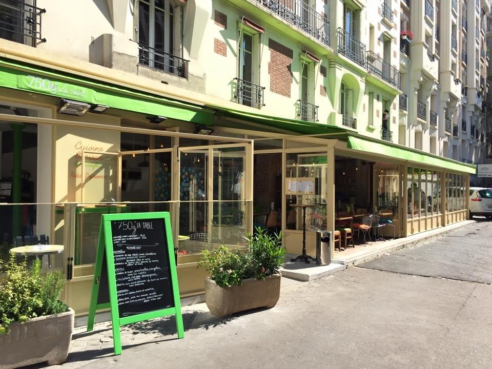 Restaurant Paris 750g La Table Vaugirard
