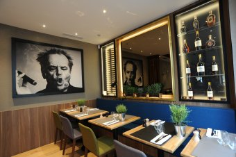 Repas entreprise près de l'Arc de Triomphe restaurant groupe PARIS 16 75