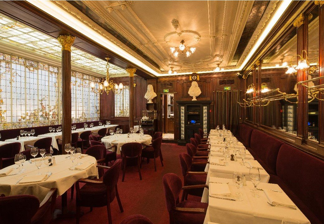 Restaurant Paris Brasserie Gallopin