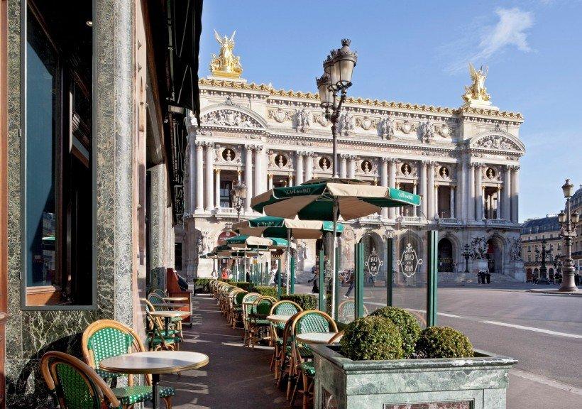 Repas entreprise dans une institution Parisienne restaurant groupe Paris 9