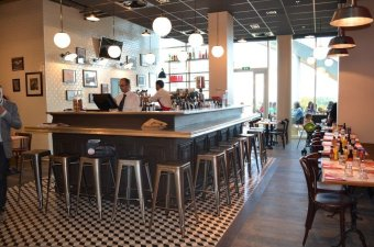 Repas entreprise Bistrot new yorkais à Dijon restaurant groupe Dijon 21