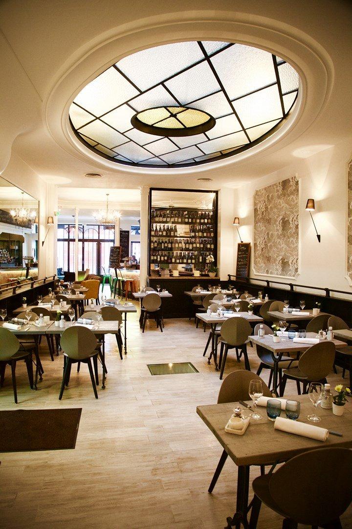 Repas entreprise dans un restaurant tendance restaurant groupe Paris 1