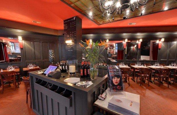 Repas entreprise dans un élégant restaurant à la cuisine gourmande restaurant groupe Neuilly-sur-Seine 92