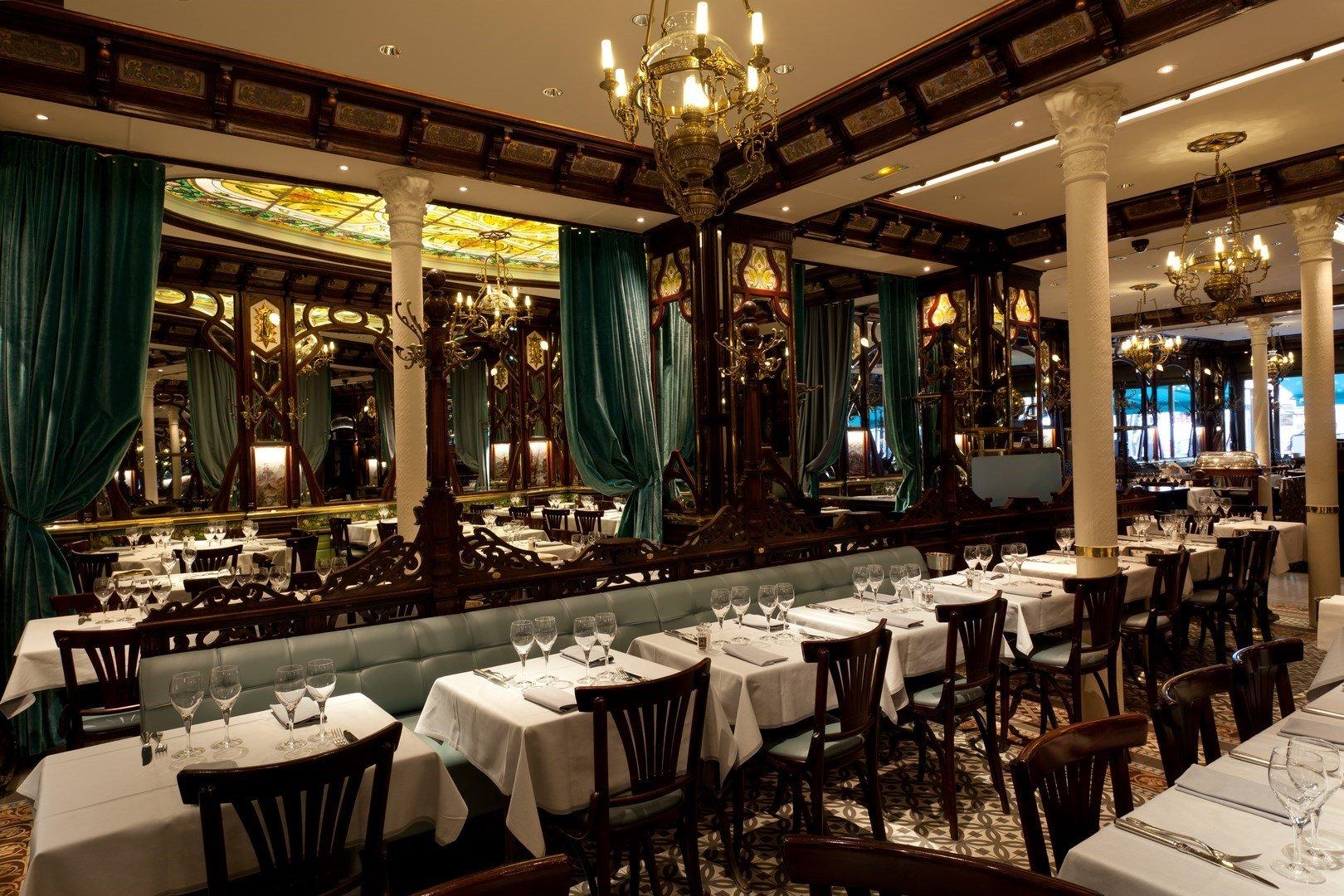 Repas entreprise dans une brasserie historique restaurant groupe Paris 6
