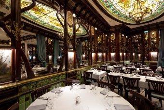 Repas entreprise dans une brasserie historique restaurant groupe PARIS 6 75