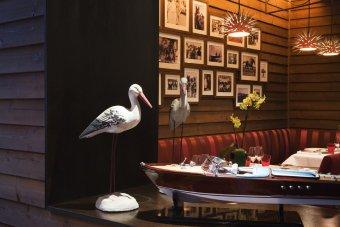 Repas entreprise dans une institution au décor intimiste restaurant groupe