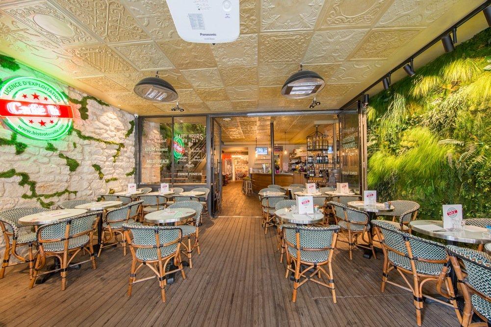 Repas entreprise dans un cadre original restaurant groupe Paris 9