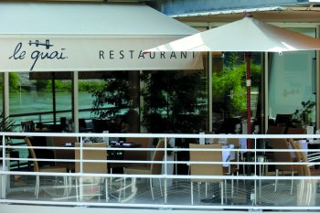 Restaurant Tain l'Hermitage Le Quai, Michel Chabran