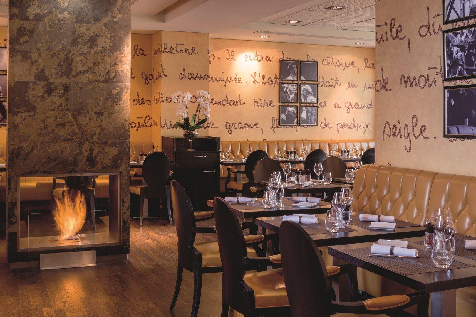 Repas entreprise adresse au style contemporain à l'atmosphère chaude et accueillante restaurant groupe Neuilly-sur-Seine 92