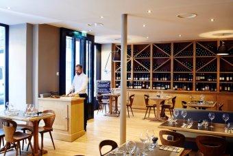 Repas entreprise dans un restaurant à la cuisine bistronomique restaurant groupe Paris 1
