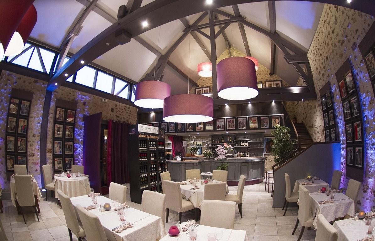 Repas entreprise dans un lieu chargé d'histoire restaurant groupe ELANCOURT 78