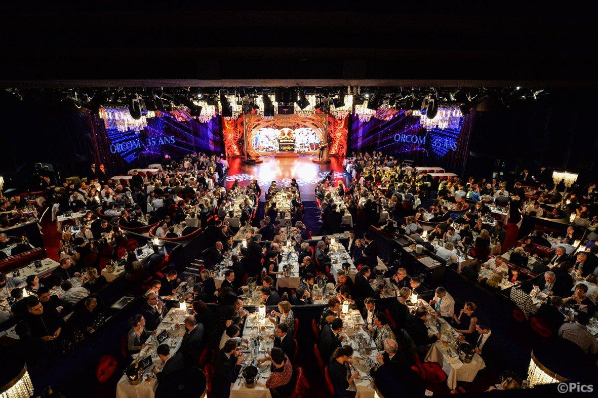 Cabaret Historique Champs-Elys�es Paris restaurant groupe Paris 8