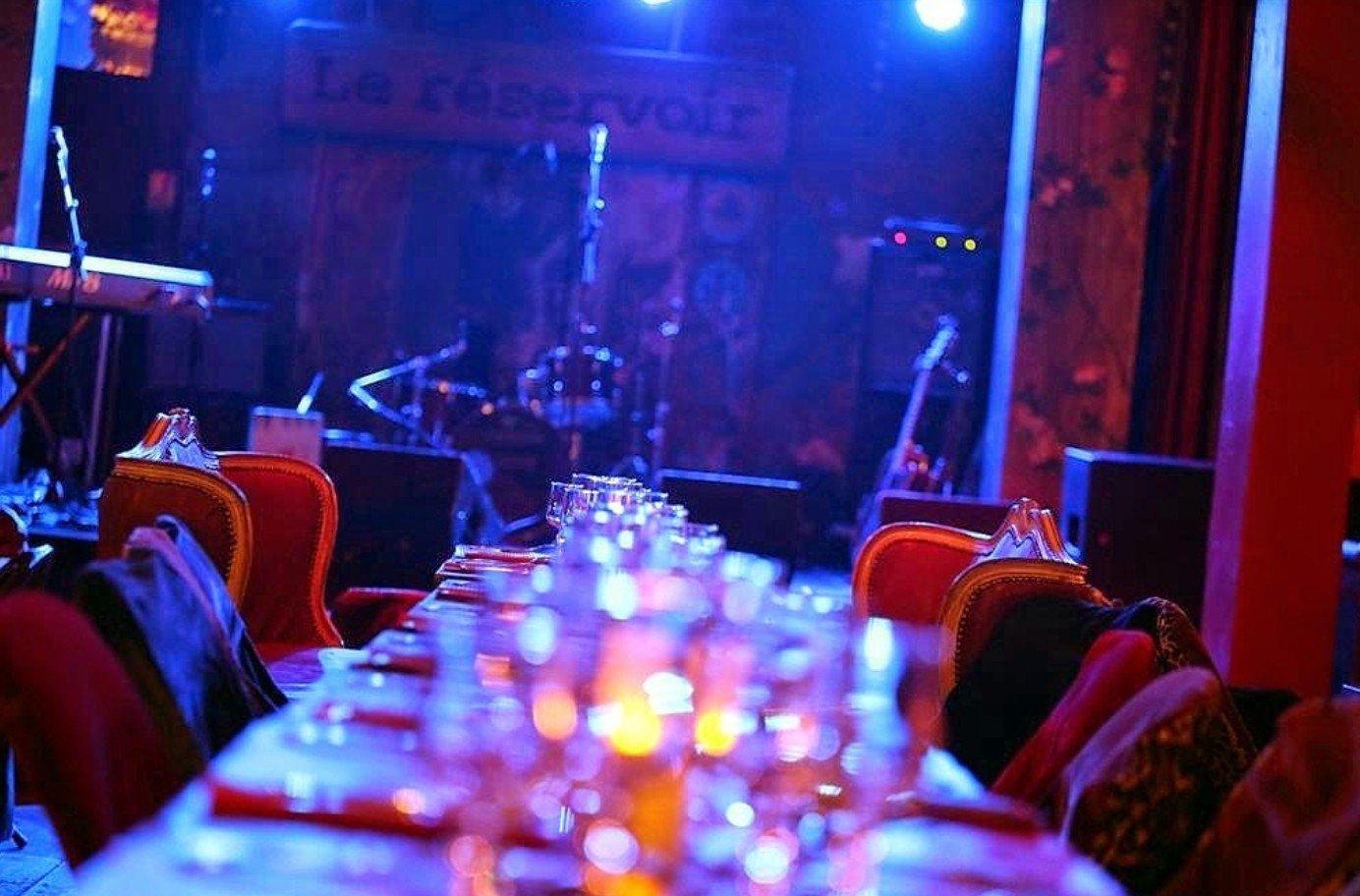 Repas entreprise Salle de Spectacle unique Paris restaurant groupe Paris 11