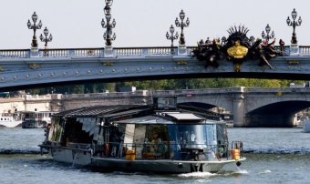 Repas croisière restaurant groupe Paris 7