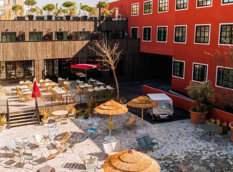 Mob Hotel  Saint Ouen