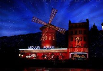 Diner dans le plus connu des cabarets du Monde (Paris) restaurant groupe PARIS 18 75