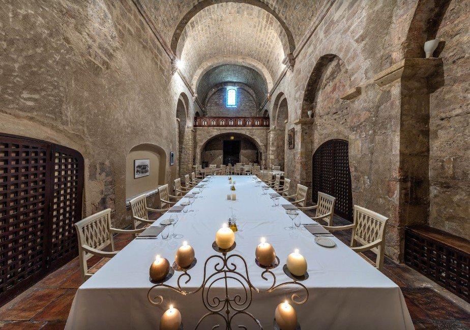 Restaurant de l 39 abbaye de sainte croix salon de provence for Abbaye de sainte croix salon