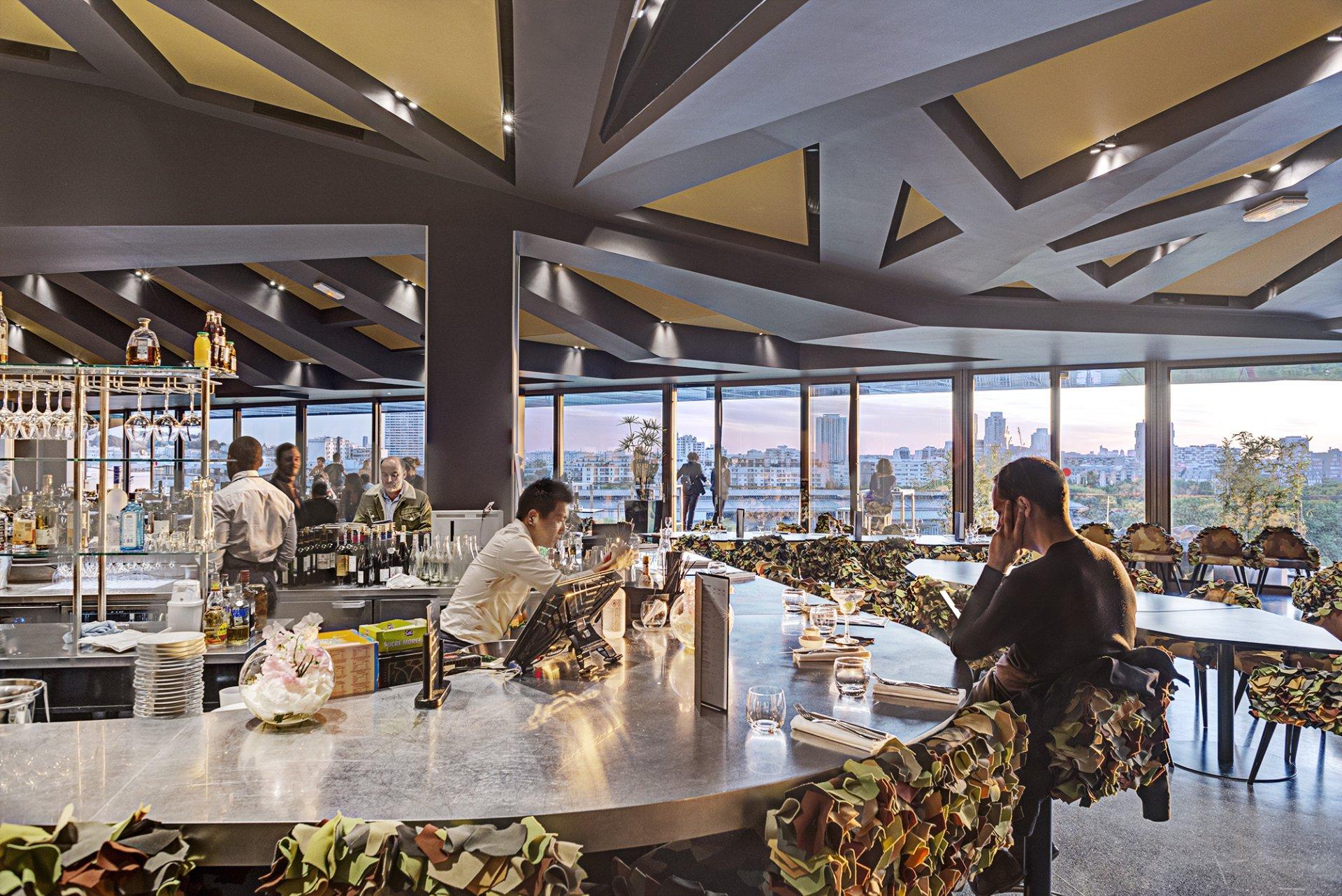 Restaurant Paris Le Balcon, Philharmonie de Paris Prestige