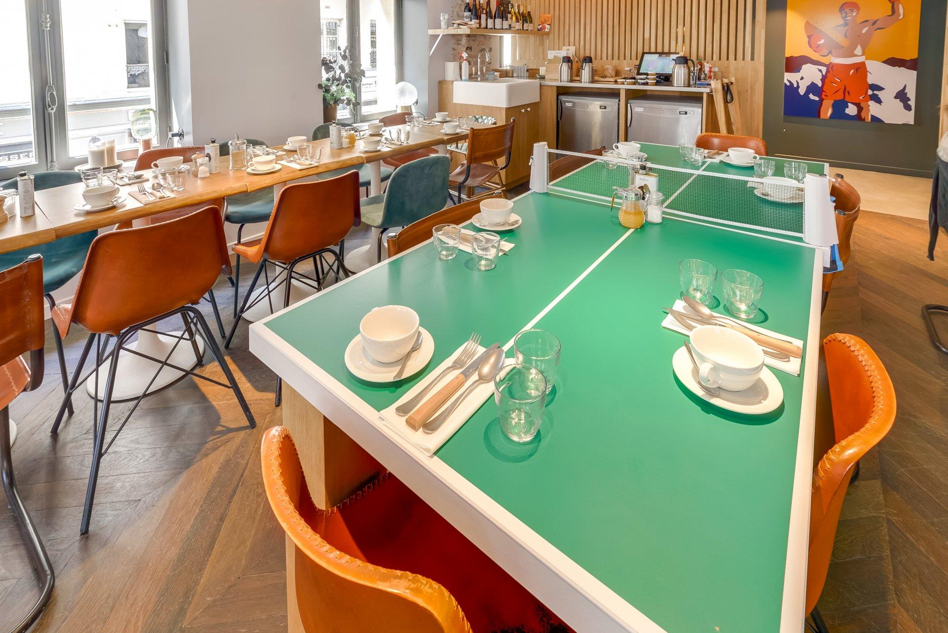 Restaurant Paris Monbleu
