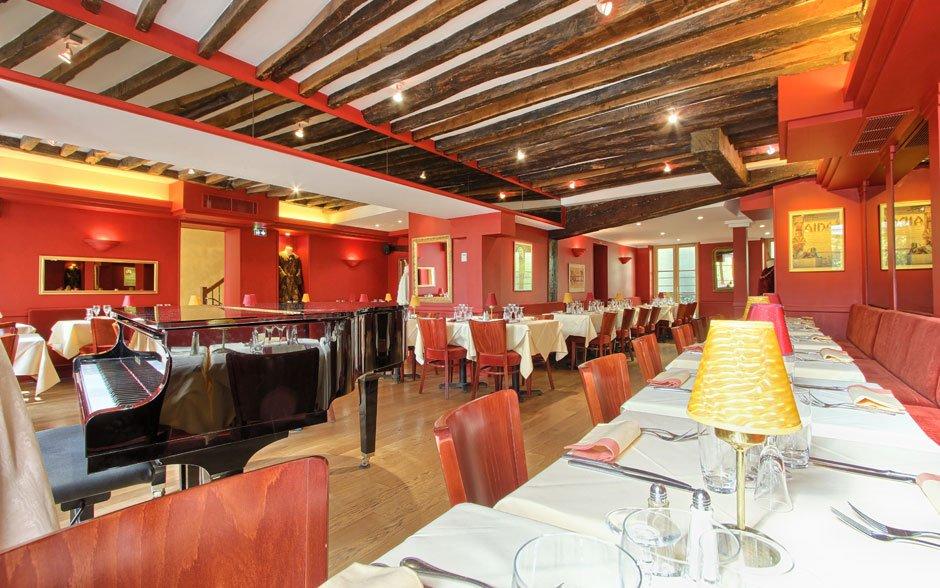 Diner lyrique entreprise Paris 75 restaurant groupe Paris 4