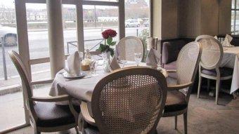 Repas entreprise dans un restaurant Libanais près du Pont de l'Alma restaurant groupe Paris 16