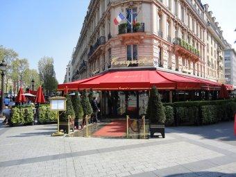 Repas entreprise Brasserie Emblématique des Champs-Elysées Paris 8 restaurant groupe PARIS 8 75